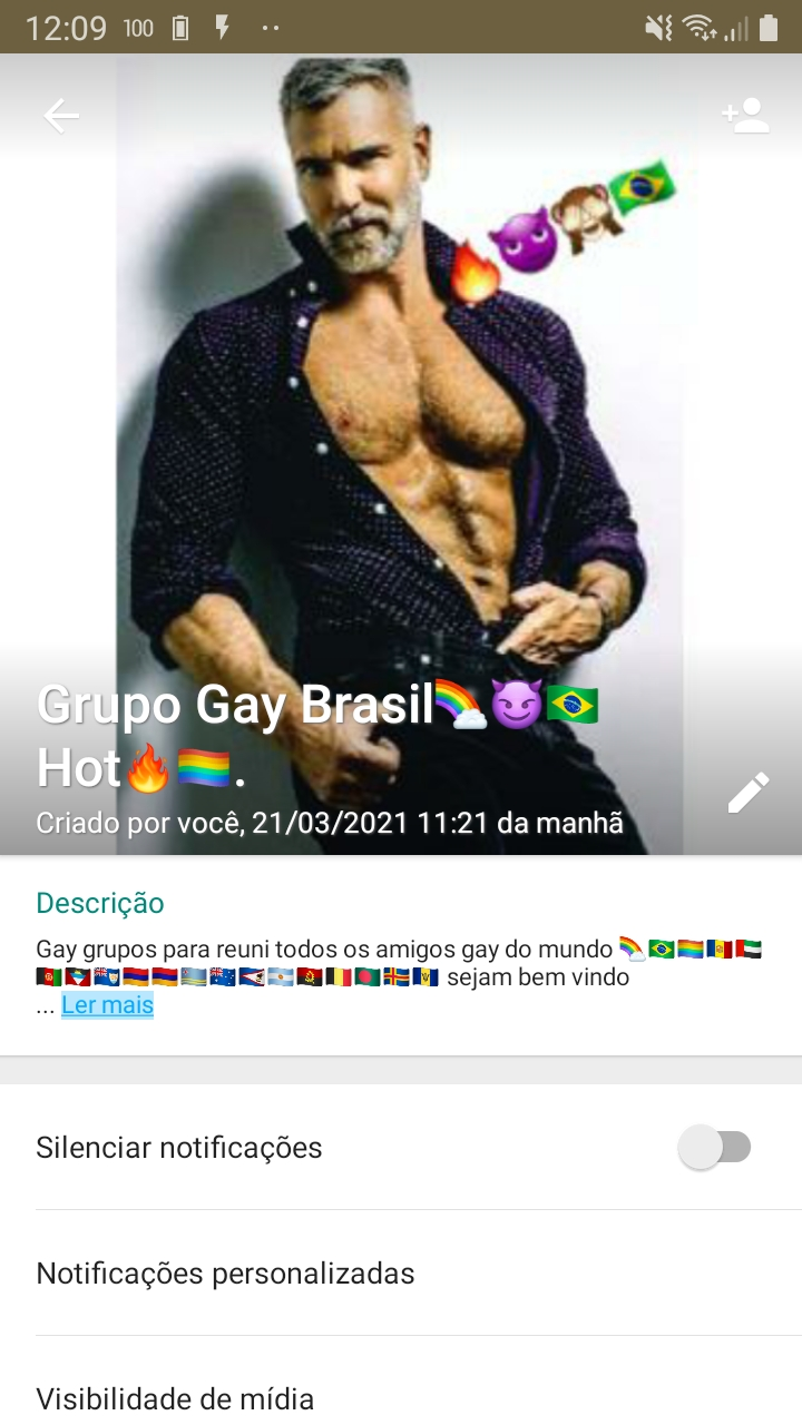 Grupo Gay Brasil🌈😈🇧🇷Hot🔥🏳️🌈.